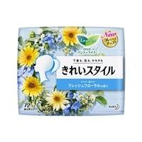 花王 ロリエパンティライナー きれいスタイル フレッシュフローラルの香り 72個