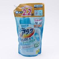 花王 アタック 抗菌EX スーパークリアジェル スパウト 1.8kg