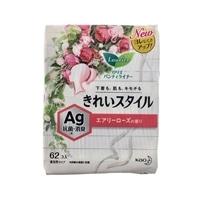 花王 ロリエ パンティライナー きれいスタイル AGデオ エアリーローズの香り 62個