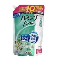 【数量限定】花王 ハミング ファイン リフレッシュグリーンの香り 詰替 超特大 1320ml