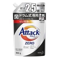 花王 アタックZERO ドラム式専用 詰替 860g