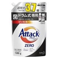 花王 アタックZERO ドラム式専用 詰替 1280g