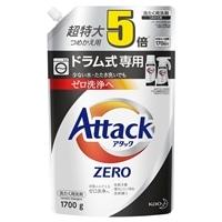 花王 アタックZERO ドラム式専用 詰替 1700g