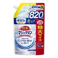 花王 バスマジックリン 泡立ちスプレー SUPER CLEAN 香りが残らないタイプ 詰替 820ml