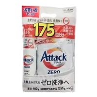 【数量限定】花王 アタックZERO 本体 400g+詰替 1350g