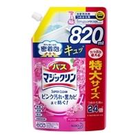 花王 バスマジックリン 泡立ちスプレー SUPER CLEAN アロマローズの香り 詰替 820ml