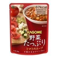カゴメ KAGOME 野菜たっぷり トマトのスープ 160G
