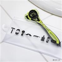 貝印×CAINZ  Xfit ホルダー1本+替刃4個+特別ポーチ付