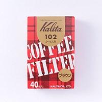 カリタ コーヒーフィルターみさらし 102 40枚