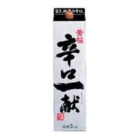 黄桜 辛口一献 パック 3000ml【別送品】
