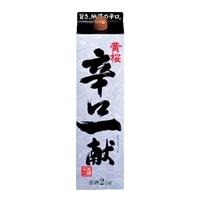 黄桜 辛口一献 パック 2000ml【別送品】