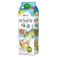 メルシャン かろやか梅酒  1000ml パック【別送品】