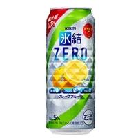 【ケース販売】キリン 氷結ZERO シチリア産グレープフルーツ 500ml×24本【別送品】
