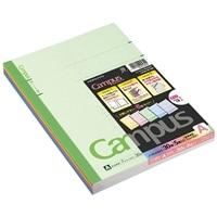 コクヨB5カラーキャンパスノートA罫30枚×5冊
