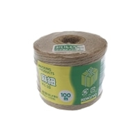 コクヨ 麻紐 チーズ巻 100m ホヒ-33