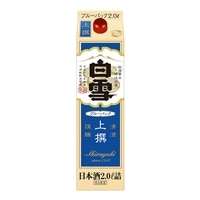 白雪 上撰 ブルーパック 2000ml【別送品】