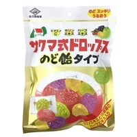 佐久間製菓 ビタミンドロップのど飴タイプ 90g