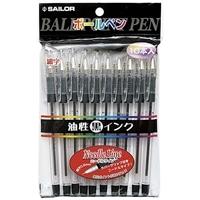 ニードルライン ボールペン 10本入