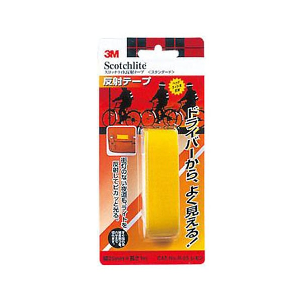 3M  スコッチライト  反射テープ スタンダード レモンR25 LEM