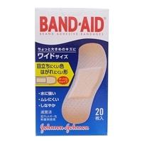 J&J バンドエイド肌色ワイド 20枚 2006