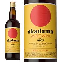 赤玉 スイートワイン 赤 キング 瓶 1800ml【別送品】