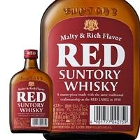 サントリー ウィスキー レッド ポケット瓶 180ml【別送品】
