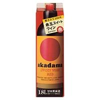 赤玉スイートワイン 赤 紙パック 1800ml【別送品】