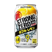 【ケース販売】-196℃ ストロングゼロ ダブルレモン 350ml×24缶【別送品】