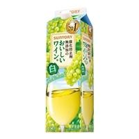 酸化防止剤無添加のおいしいワイン。 白 1800ml【別送品】