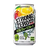 【ケース販売】-196℃ ストロングゼロ ダブルグレープフルーツ 350ml×24缶【別送品】