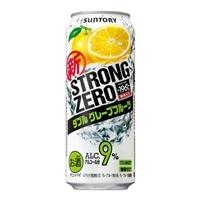 【ケース販売】-196℃ ストロングゼロ ダブルグレープフルーツ 500ml×24缶【別配送】