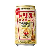 【ケース販売】サントリー トリスハイボール 350ml×24本【別送品】