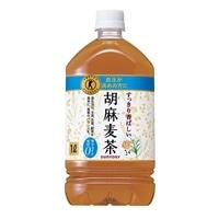 【ケース販売】サントリー 特定保健用食品 胡麻麦茶 1000ml×12本