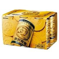 【ケース販売】サントリー ボス 贅沢微糖 185g×6本×5パック