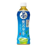【ケース販売】サントリー緑茶 伊右衛門 贅沢冷茶 500ml×24本