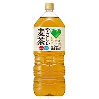 【ケース販売】グリーンダカラ やさしい麦茶 2L×6本