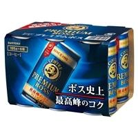 【ケース販売】プレミアムボス185g 6本パック×5