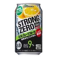 【ケース販売】サントリー ストロングゼロ ダブルグレープフルーツ 350ml×24缶【別送品】