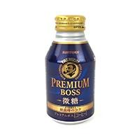 【ケース販売】サントリー プレミアムボス 微糖 ボトル缶 260g×24本
