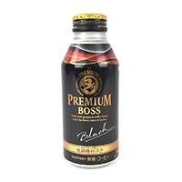 【ケース販売】サントリー プレミアムボス ブラック ボトル缶 390g×24本