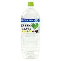 【ケース販売】サントリー GREEN DA・KA・RA 2L×6本