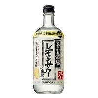 サントリー こだわり酒場のレモンサワーの素 500ml【別送品】