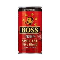 【ケース販売】サントリー ボス スペシャルファイブブレンド 深煎り 缶 185g×30本