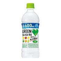 【ケース販売】サントリー GREEN DAKARA 600ml×24本