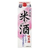 沢の鶴 米だけの酒 パック 1800ml【別送品】