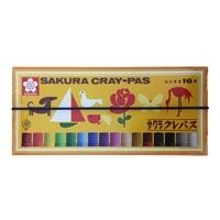 サクラ クレパス16色 LP16R