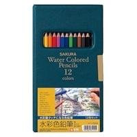 サクラ 水彩色鉛筆12C EPY12