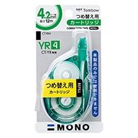 トンボ 修正テープつめ替えカートリッジ 4CT-Y