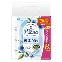 大王製紙 エリエール Puana(ピュアナ)純水99% 詰替 62枚×8個