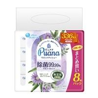 大王製紙 エリエール Puana(ピュアナ)除菌99.99%アルコールタイプ 詰替 42枚×8個